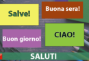 Приветствия/Saluti