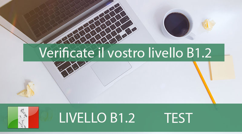 test b1.2 - ITALIANO ONLINE