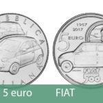 В Италии посвятили 5 EUR автомобильной марке Фиат