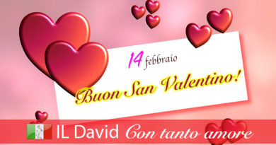 14 febbraio - la festa degli innamorati
