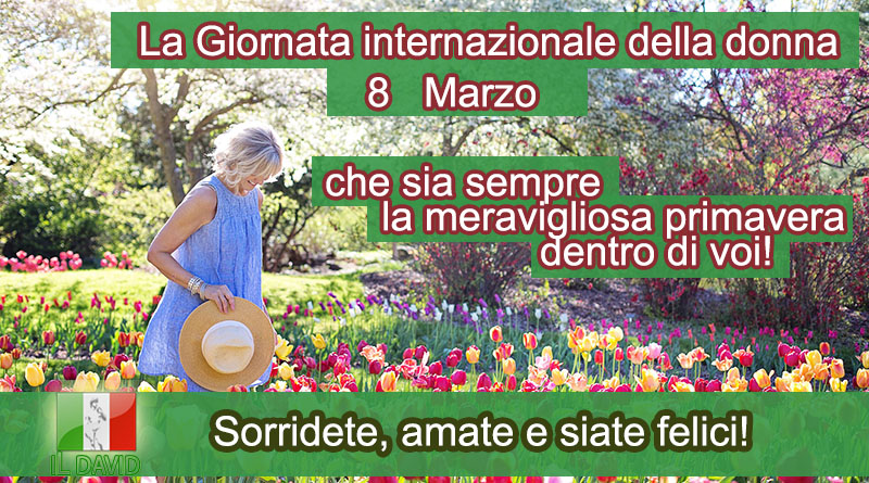 8 марта в Италии - Итальянский ОНЛАЙН
