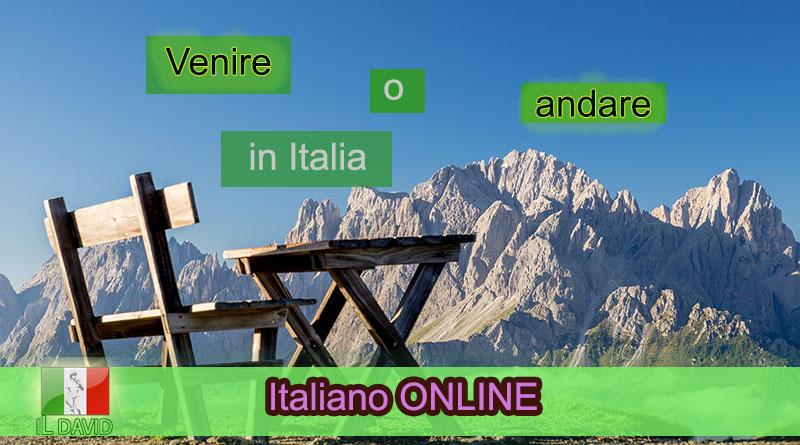 Andare или venire - Italiano ONLINE