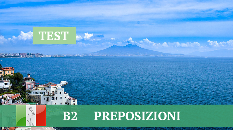 B2 preposizioni