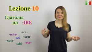 глаголы на ire