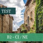 B2- CI/NE — TEST
