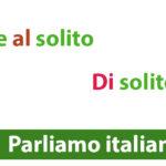 DI solito (обычно). Come AL solito (как всегда)