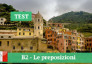 B2 — Le preposizioni